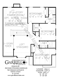 Federal Home Plans Vinings Cottage B House Plan House Plans By Garrell Associates Inc