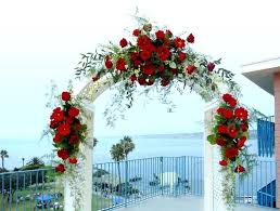 Wedding Arches Decorated With Burlap How To Decorate A Arch For Wedding U2013 Thejeanhanger Co