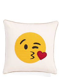 this emoji pillow from nordstrom is too cute gifts for every