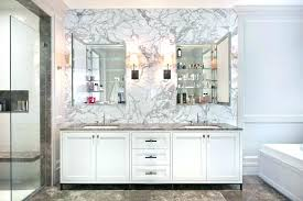 Bathroom Medicine Cabinets With Mirrors Recessed Bathroom Medicine Cabinet Mirror Replacement For Recessed Cabinets