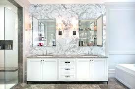 Bathroom Medicine Cabinet With Mirror Bathroom Medicine Cabinet Mirror Replacement For Recessed Cabinets