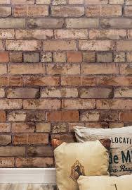 exposed brown brick wallpaper milton u0026 king usa