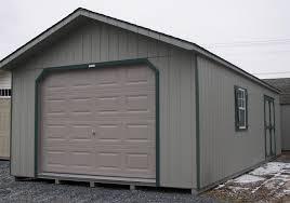 14x32 peak garage greencastle pa pine creek structures