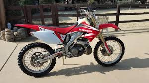 1996 honda cr250 motorcycles for sale