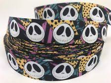 skellington ribbon db09 disney hair clip skellington ribbon hair decoration ebay