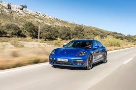 porsche electric 2018 2018 porsche panamera turbo s e hybrid sport turismo first drive