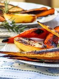 cuisiner les l馮umes anciens légumes anciens rôtis au sirop d érable recette légumes anciens