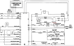 wiring diagram whirlpool refrigerator schematic for stunning of a