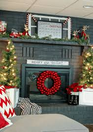 ideas for christmas with others classic christmas decoration a modern classic christmas fireplace mantel fireplace mantel
