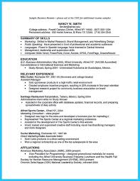 Affiliation In Resume Sample by Business Resume Sample Resume For Your Job Application