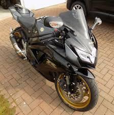 2008 suzuki gsxr 750 gsx r750 k8 black u0026 gold in cumnock