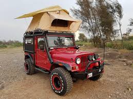 custom mahindra thar front quarter by the transporter indian