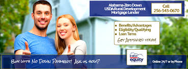 Usda Rd by Usda Home Mortgage Buy With Zero Down Payment Loan Alabama