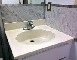 Cement Bathroom Sink - how to make a concrete countertop or vanity with integral sink