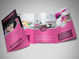 fashion nail salon brochure template mycreativeshopfashion