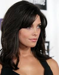 medium length haircuts with lots of layers medium hairstyle with bangs and layers women medium haircut