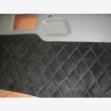 Diamond Upholstery Pontiac Fiero Custom Door Panel Upholstery Kit With Diamond Stitching