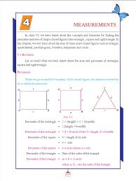 Area Of A Parallelogram Worksheet Std07 Maths Em 2 Area Circle