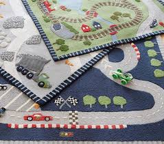 childrens rug kids city town road map village car play mat wide