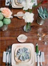bamboo plates wedding eco friendly palm leaf plates and wooden cutlery photo by mandy