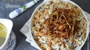 cuisine libanaise facile recette de riz aux vermicelles cuisine libanaise recette par
