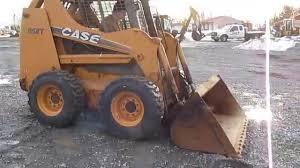 case 85xt skid steer loader youtube