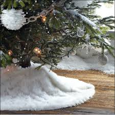 faux fur tree skirt diy decorating ideas fab