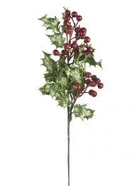 christmas picks glitter wholesale and berry picks in bulk
