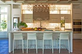 kitchen island chandelier pizitz home and cottage kitchens linear chandelier