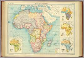 Map Of Africa Political by Africa Political David Rumsey Historical Map Collection