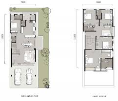 2 storey zero lot bungalow floor plan penang property talk