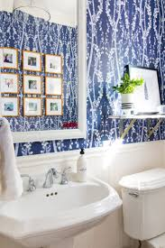 bathroom wallpaper designs 16 best bathroom powder room spaces images on pinterest powder