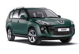 peugeot 4x4 models the peugeot 4007 is a second hand 4wd seven seater