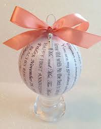 personalized wedding ornament 113 best happy thoughts by ornaments images on