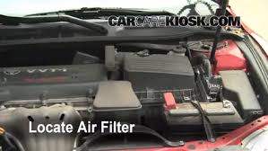 2011 toyota camry change interval air filter how to 2007 2011 toyota camry 2008 toyota camry le
