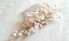 decorative hair combs bridal hair comb flower pearl decorative combs wedding