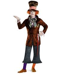 mad hatter theatrical disney costume men mad hatter costumes