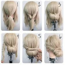 directions for easy updos for medium hair best 25 easy updo tutorial ideas on pinterest updo tutorial