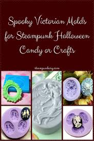 spooky victorian molds for steampunk halloween candy or crafts