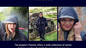cycling raincoat get the best cycling rain coat at the people u0027s poncho youtube