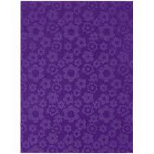 Purple Flower Rug Creativeworks Home Decor Rugs