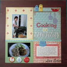 scrapbooking cuisine 194 best recipe album scrapbook ideas images on book