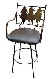 Rustic Patio Furniture Texas by Tres Amigos Rustic Iron Bar Stool Tres Amigos World Imports