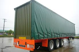 curtain side semi trailer