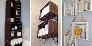 using wood 10 awesome storage ideas using wooden crates