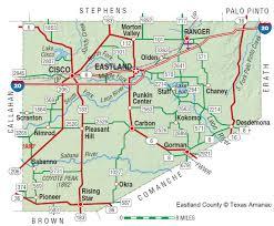 Colorado River Texas Map Eastland County The Handbook Of Texas Online Texas State