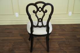 Made Dining Chairs Italian Ebonzied Casual Or Transitional Dining Chairs