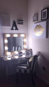 bedroom beautiful bedroom makeup vanity with lights on vanity