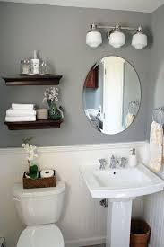 Half Bathroom Decorating Ideas Pictures Half Bath Decorating Ideas Image Gallery Pic Of Dfdfafffbccdfb