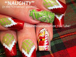robin moses nail art christmas nails christmas nail art cute